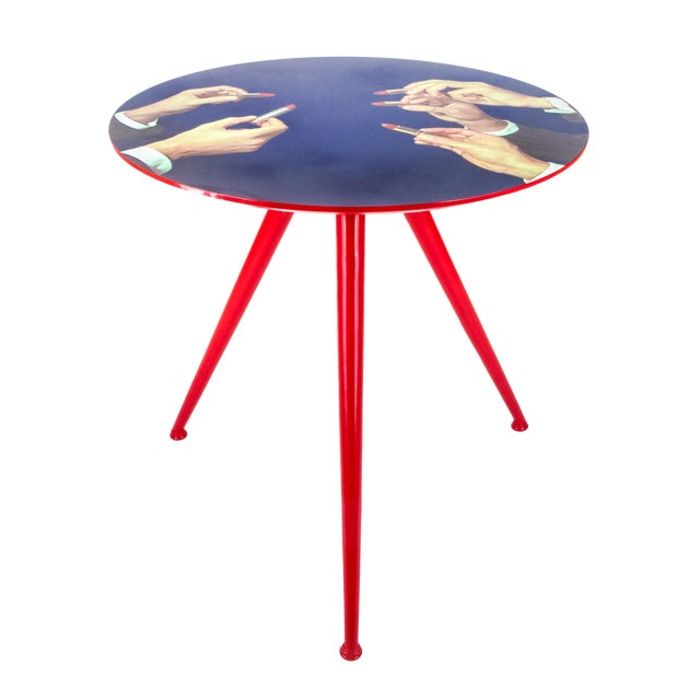 Seletti, Lipsticks Side Table, Toiletpaper, 2017 For Sale