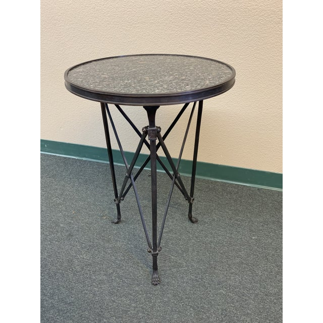 Global Views Directoire Side Table For Sale - Image 10 of 10
