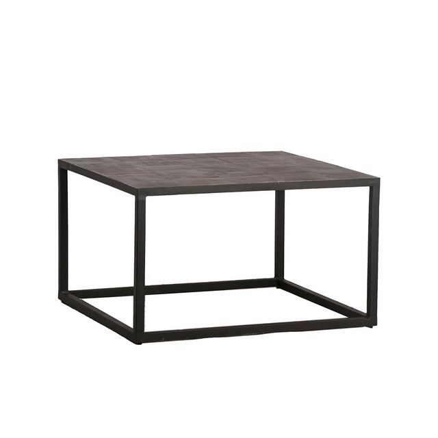 Contemporary Square Lava Tile Coffee Table For Sale - Image 3 of 3