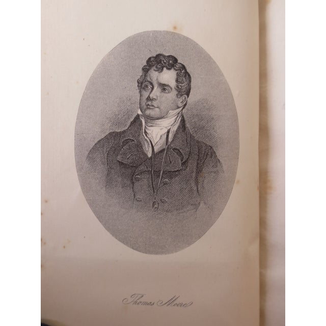Antique 'The Poetical Works of Thomas Moore' Book For Sale - Image 5 of 8