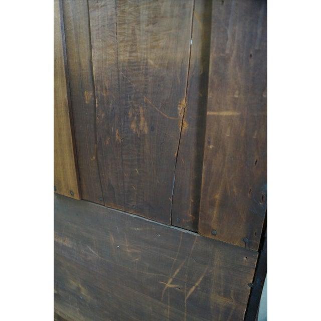 Victorian Walnut Cylinder Roll Secretary Desk - Image 9 of 10