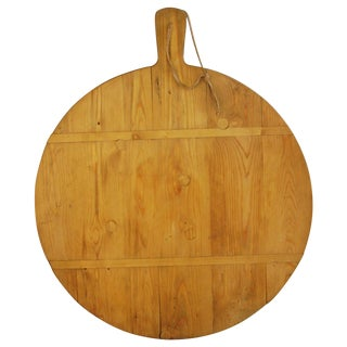 Large Round French Harvest Bread Cheese Board