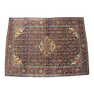 "Persian Sarouk Rug, 4'10""x 6'8"" For Sale"