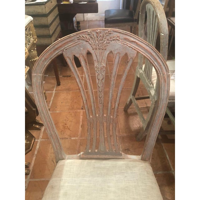 Set of Six Gustavian Chairs For Sale In Washington DC - Image 6 of 9
