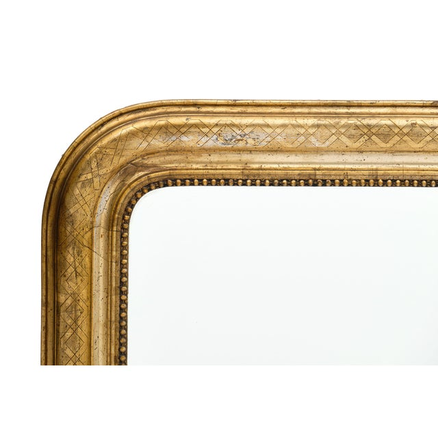 Louis Philippe Antique French Louis Philippe Period Mirror For Sale - Image 4 of 10