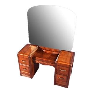 1930s Antique Art Deco Vanity Dresser