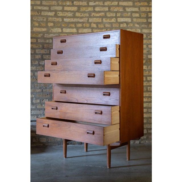 1960s 1960s Børge Mogensen Highboy Dresser For Sale - Image 5 of 7