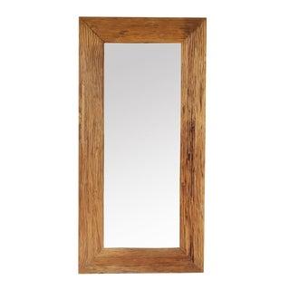 Rustic Teak Mirror For Sale