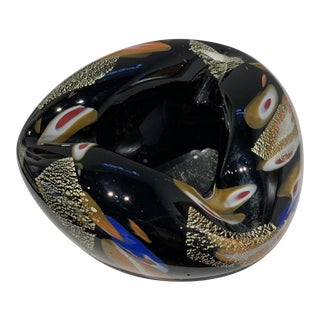 1960s Italian Art Glass Ashtray For Sale