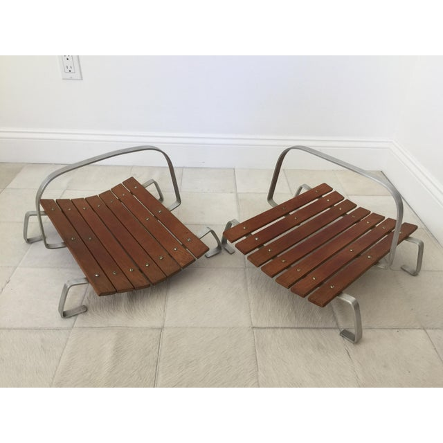 Country Mid Century Magazine Holders - a Pair For Sale - Image 3 of 6