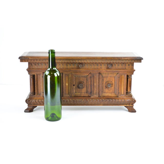 19th Century Antique Miniature Sideboard - Image 2 of 10