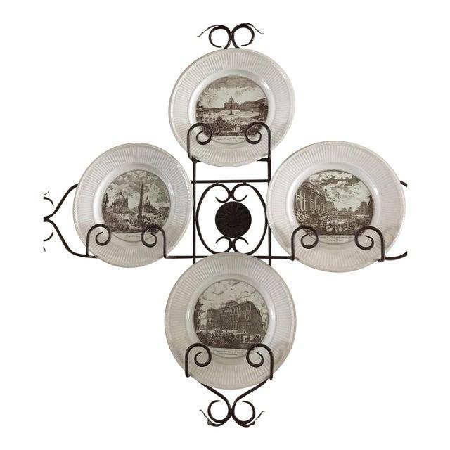 Wedgwood Piranesi Plates - Set of 6 For Sale