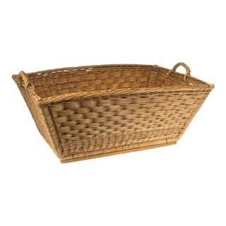 French Wicker Basket