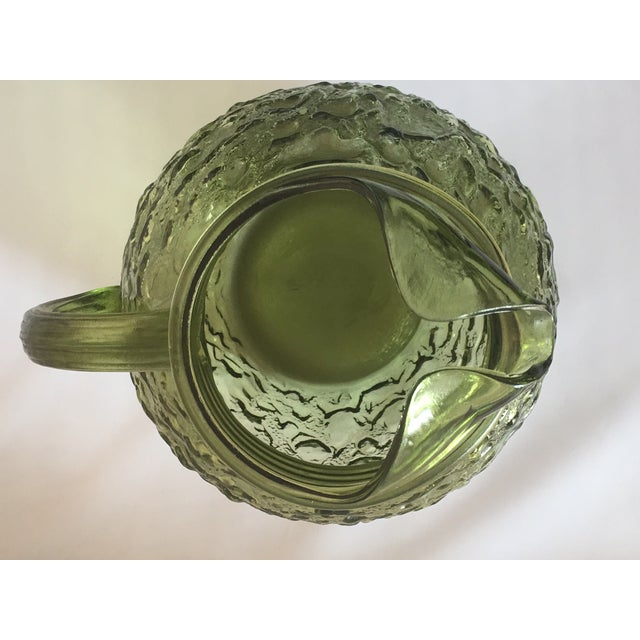 Vintage Avocado Green Lido Pitcher Set - Image 3 of 10