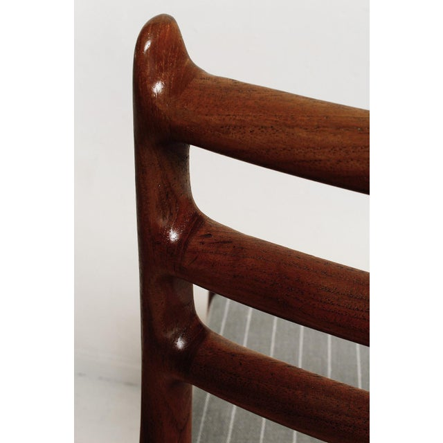 Fully Restored 1960s Teak Dining Chairs by Niels O. Møller-Set of 6 For Sale - Image 11 of 13