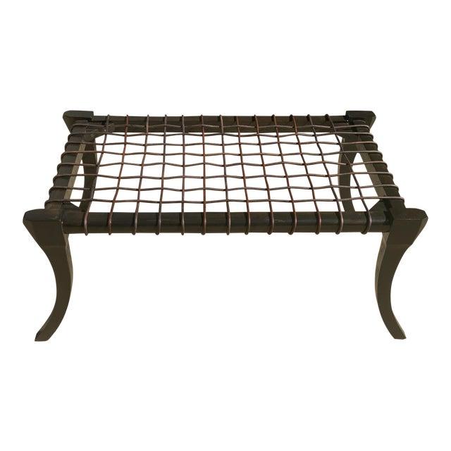 Mid Century Modern Klismos Bench For Sale