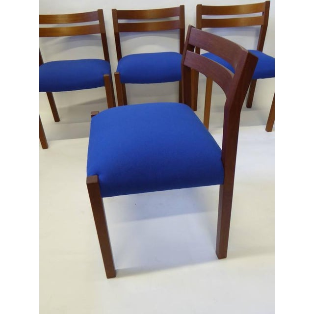 Eight 1974 Jørgen Henrik Moller Modern Teak Dining Chairs - Image 4 of 11