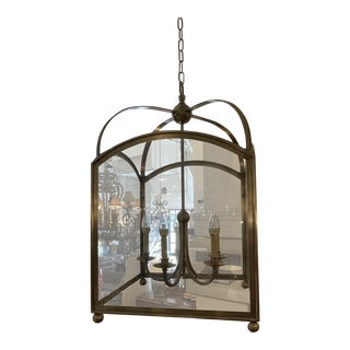 Visual Comfort Arched Foyer Pendant by e.f. Chapman For Sale