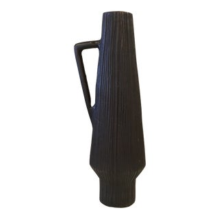 CB2 Wood Grain Vase For Sale