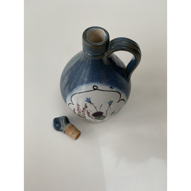 Late 20th Century Vintage British Hand Painted Jug For Sale - Image 5 of 7