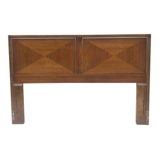 Mid-Century Queen Size Headboard by American of Martinsville For Sale