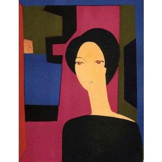 1974 Mourlot Andre Minaux Sicilienne Original Lithograph For Sale