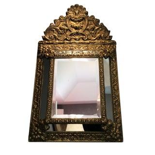 Antique Flemish Repousse Mirror