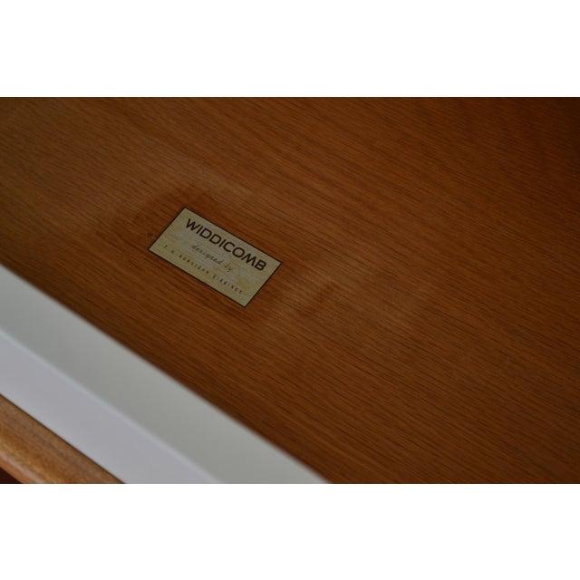 Birch Robsjohn-Gibbings White Lacquer Dresser For Sale - Image 7 of 8