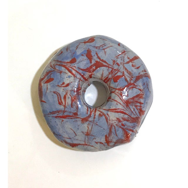 Surface Ceramics Wall Donut For Sale In Charleston - Image 6 of 6