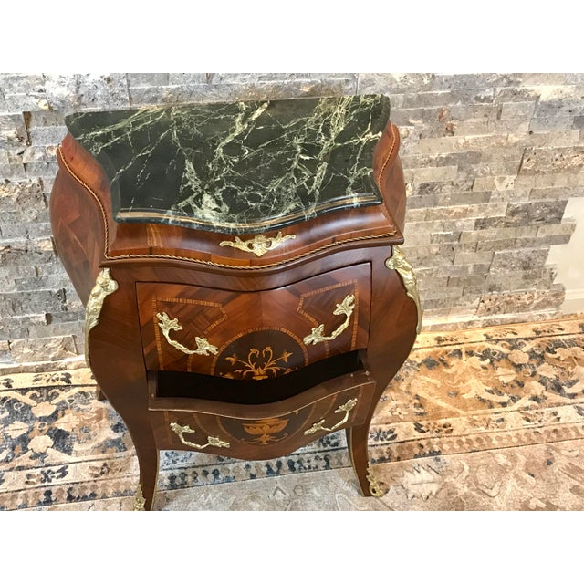 Louis XV Empire Marble Top Side Table For Sale In Philadelphia - Image 6 of 10