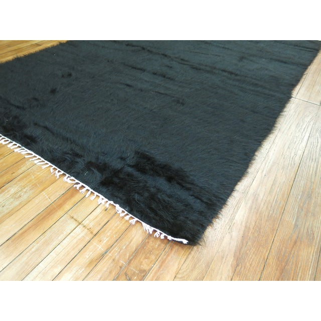 Vintage Mohair Rug - 4'7'' x 6'9'' - Image 7 of 9