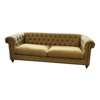 Anthropologie Lyre Chesterfield Sofa Sold Individually for $1500 Each or Both for $3000