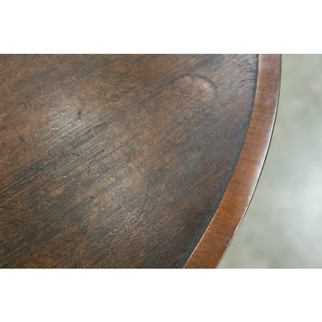 Canvas Antique French Wine Tasting Table For Sale - Image 7 of 10