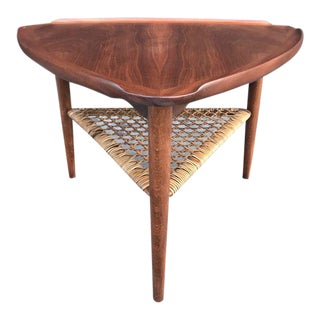 Mid Century Side Danish Table For Sale