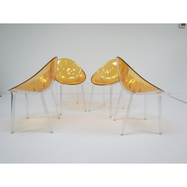 Contemporary 1990s Philippe Starck Kartell Mr. Impossible Chairs- Set of 4 For Sale - Image 3 of 9