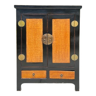 Vintage Chinese Storage Cabinet For Sale