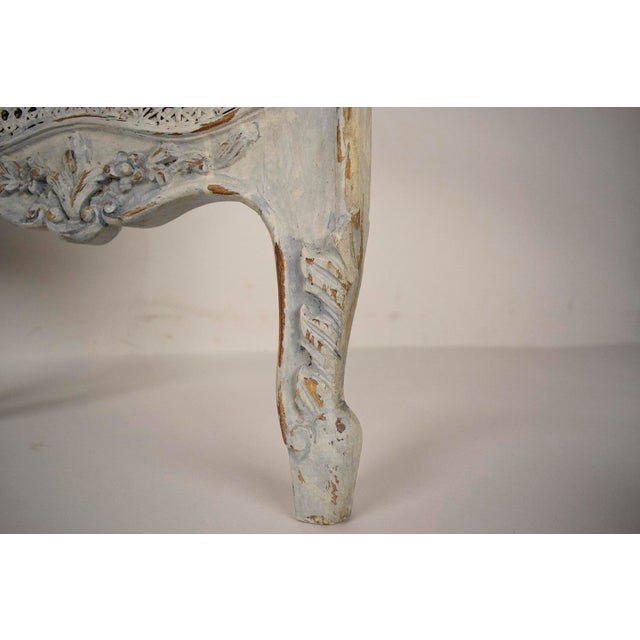 French Louis XV Style Three Panel Screen Divider - Image 7 of 7