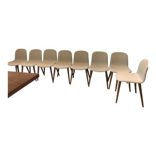 Dwr Bacco Dining Chairs by Omar De Biaggio - Set of 8 For Sale