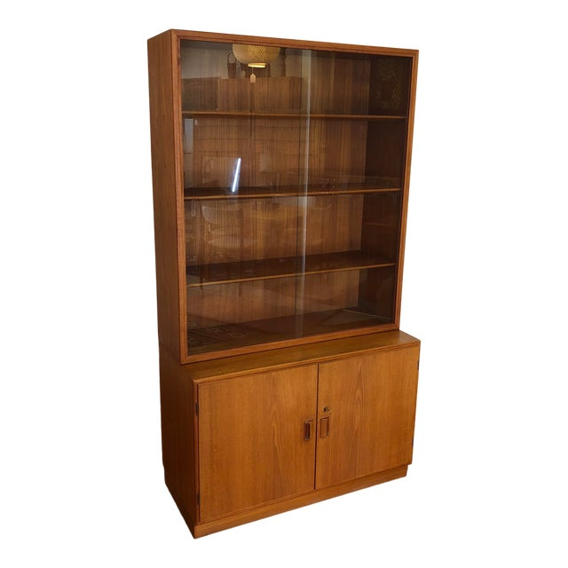Borge Mogensen Danish Teak Cabinet / Display For Sale