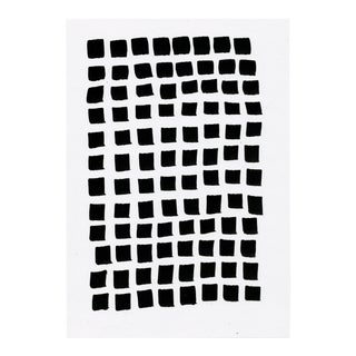 Modern Contemporary Minimal Black and White #2 Drawing For Sale