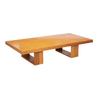 Hendrik Van Keppel and Taylor Green Camel Table for Brown Saltman For Sale