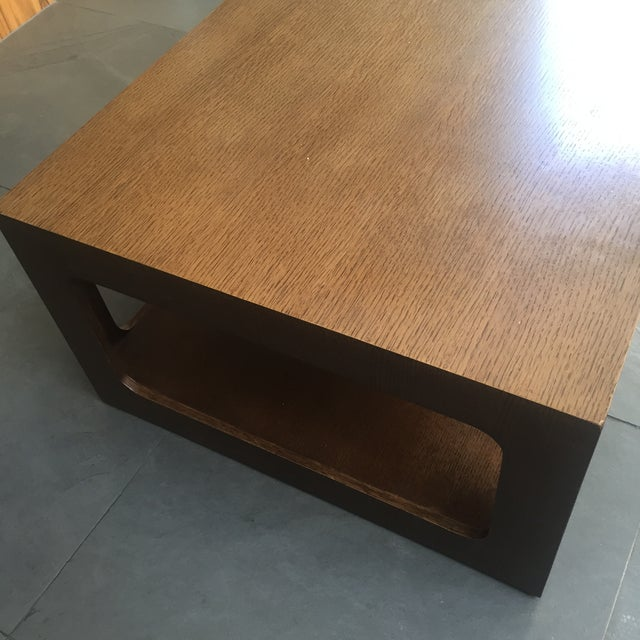 Modern Brown Coffee Table - Image 7 of 7