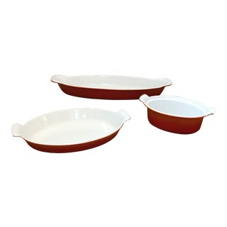 Mid-Century Descoware Cookware - Set of 3 For Sale