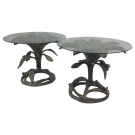 Image of Verdigris Side Tables