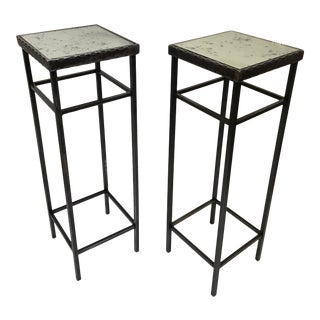 Artisan Made Stands - a Pair For Sale