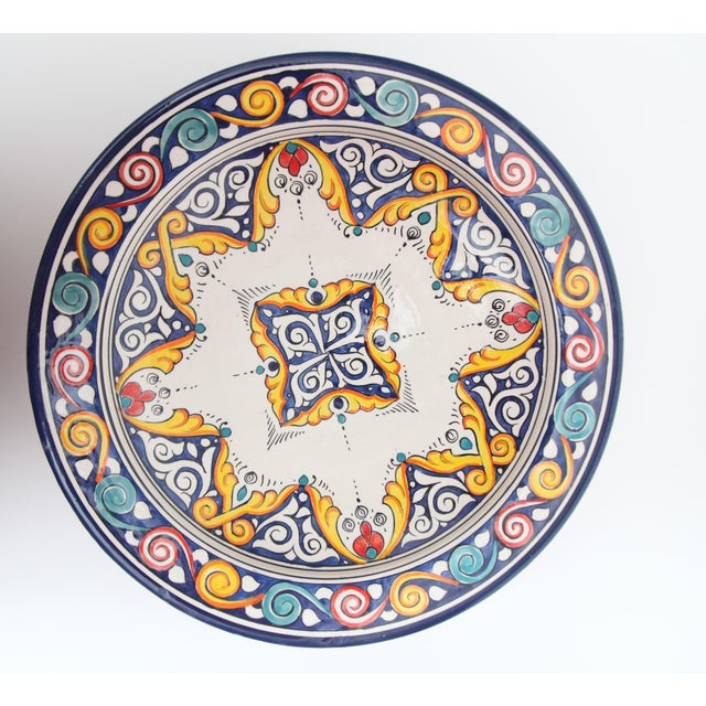 Arabesque Atlas Dinner Plate - Image 2 of 3
