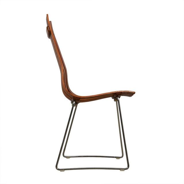 "Danish Modern Set of 8 Norwegian Modern ""Scandia"" Teak Dining Chairs by Hans Brattrud For Sale - Image 3 of 8"
