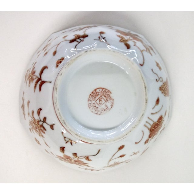 Vintage Hand-Painted Chinese Porcelain Lotus Bowl - Image 7 of 9