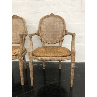 20th Century Bois Cane Back Chairs- a Pair Preview