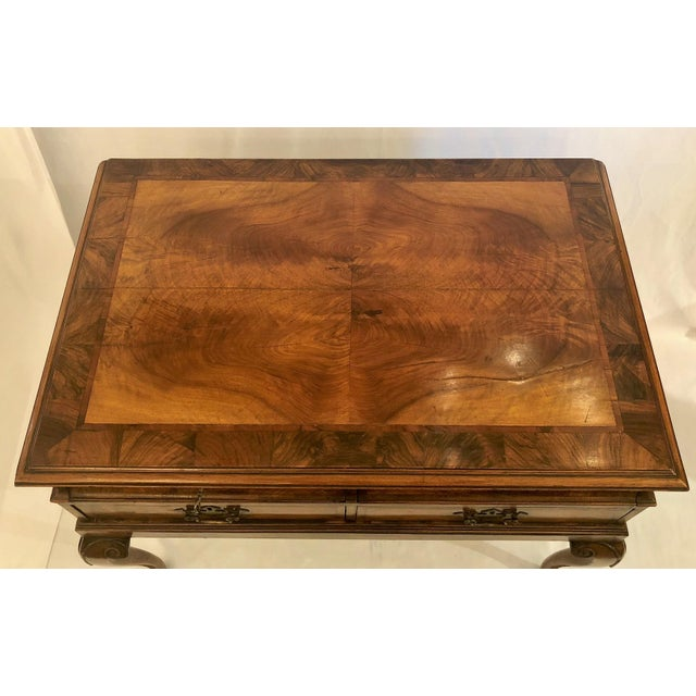 English Traditional Antique English Walnut Lowboy Chest, Circa 1890-1910. For Sale - Image 3 of 5